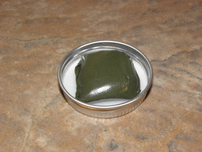 Tungsten putty 25 gram groen